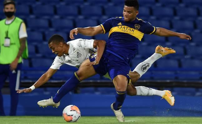 Santos y Boca Juniors definen al otro finalista de la Copa Libertadores; Palmeiras espera