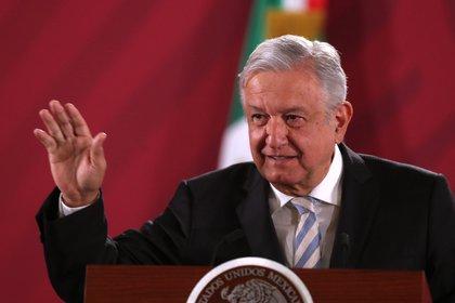 """TEPJF urgió al INE definir medidas cautelares a """"las mañaneras"""" de AMLO EFE/ Mario Guzmán/Archivo"""