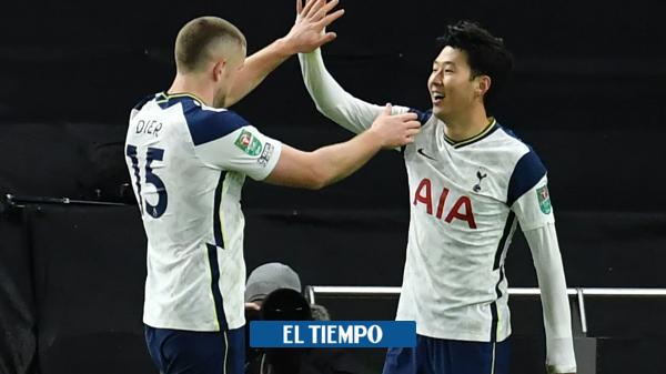 Tottenham con Dávinson Sánchez clasifica a la fina de la Copa de la Liga - Fútbol Internacional - Deportes