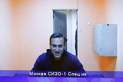 Navalny compareció por videoconferencia desde su lugar de detención (REUTERS/Maxim Shemetov)