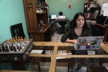 La UNAM ofrece al menos 22 licenciaturas en línea. (Foto: EFE)