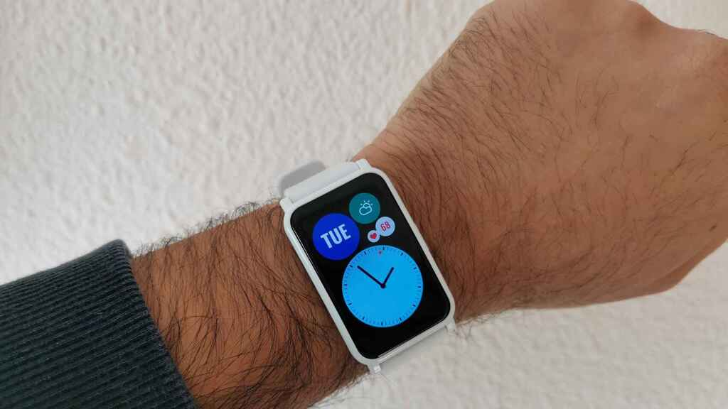 El reloj inteligente Honor Watch ES.
