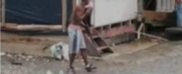 Terror en Buenaventura por sujetos que tranquilamente portan fusiles en la calle
