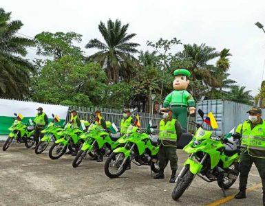 Ministerio del Interior entregó 15 motocicletas a la Policía de Buenaventura
