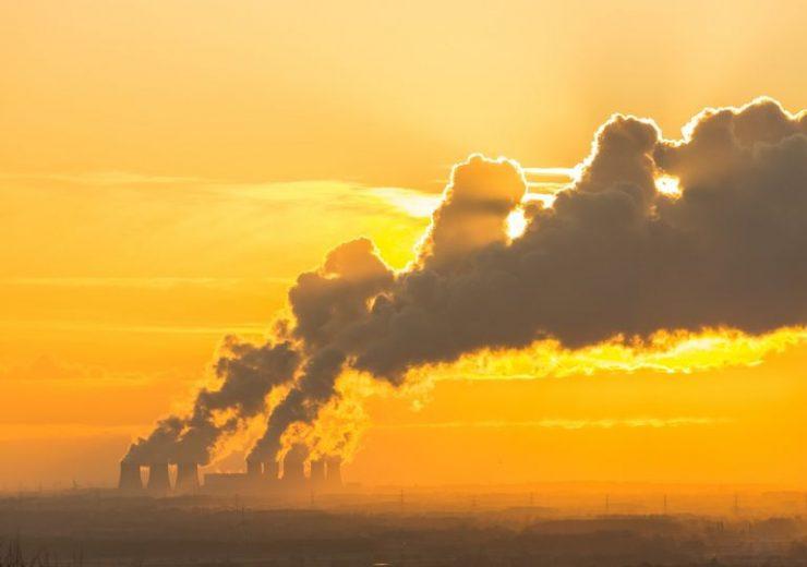 Emisión de gases efecto invernadero a la atmósfera