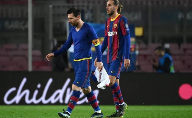 ¡Difícil momento! Messi y el Barsa, un nuevo desastre europeo que hace resurgir las dudas