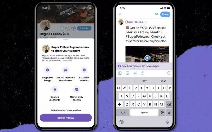 ¡Ya podrás ganar dinero en Twitter! Llegan los 'Super Follows' para cobrar por contenido exclusivo