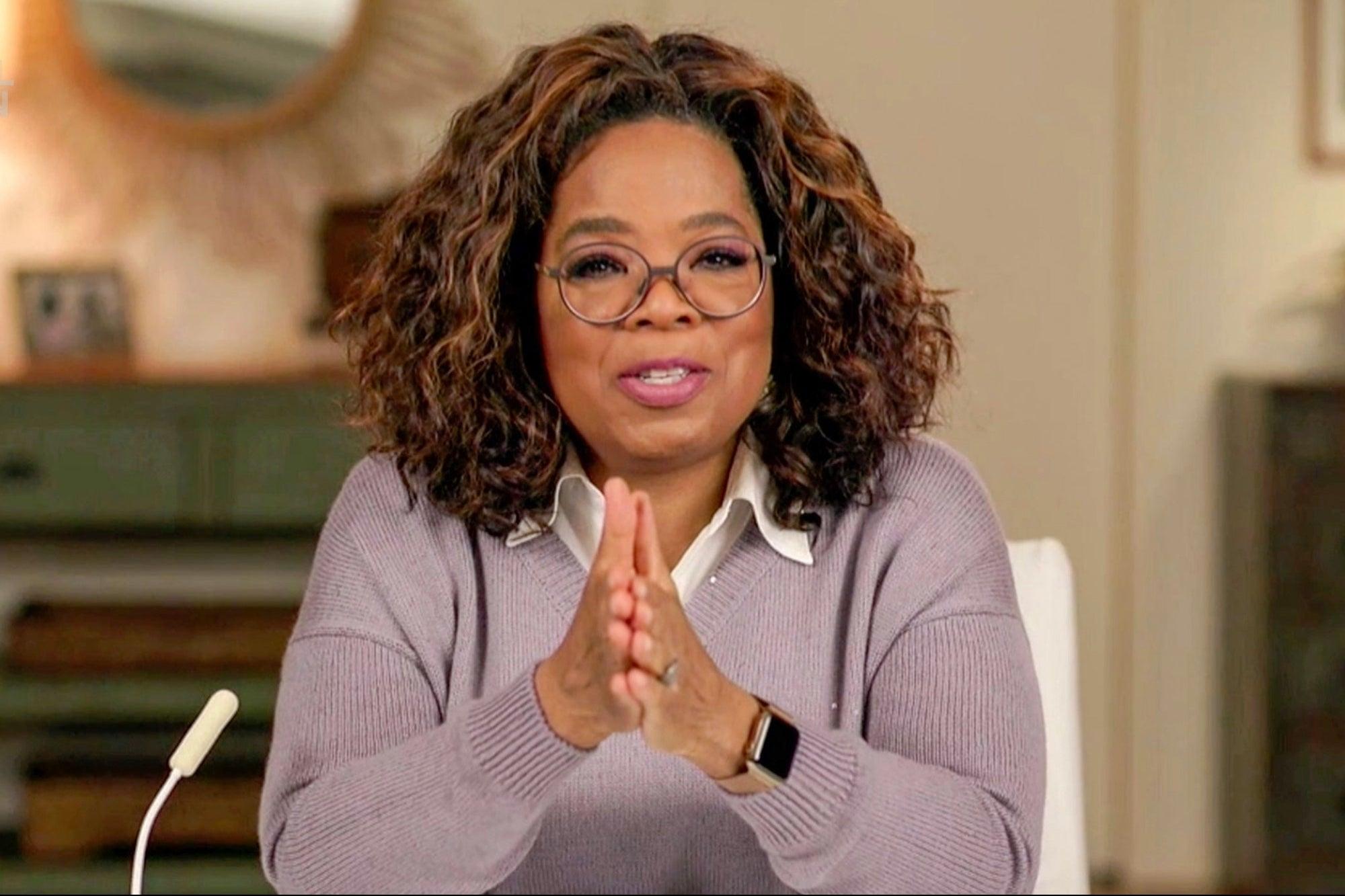 5 lecciones de la vida de Oprah