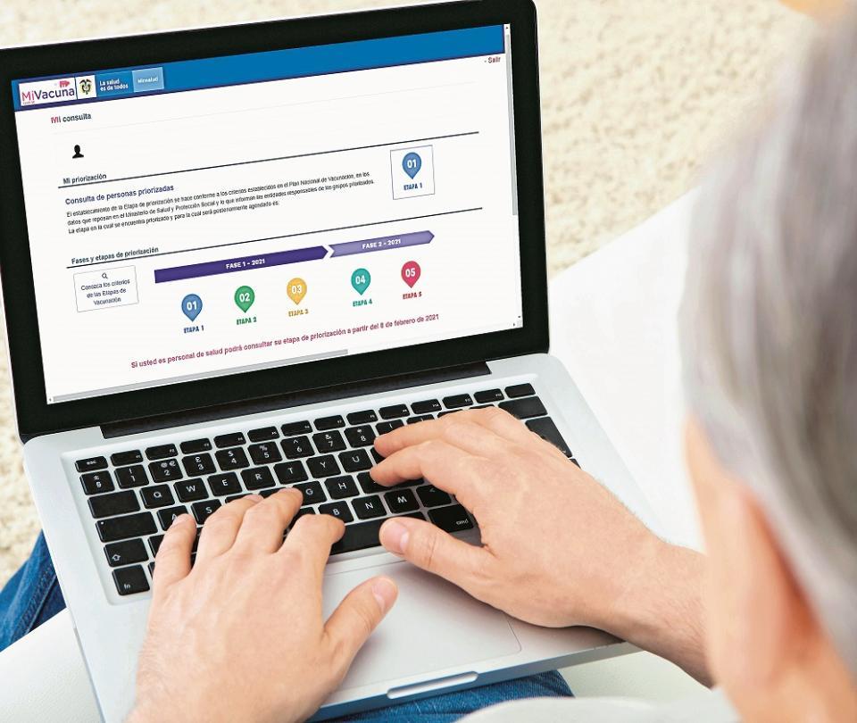 Activan portal para consultar los turnos de la vacunación | Economía