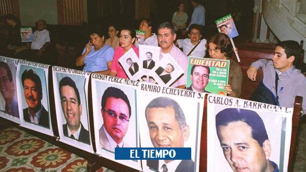 Alerta Cali: Familias de diputados del Valle claman indemnización de Gobierno - Cali - Colombia
