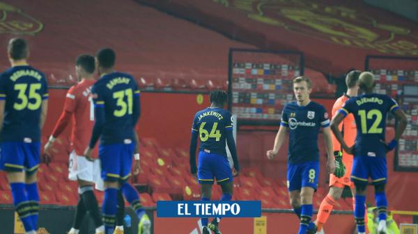 Alexandre Jankewitz es expulsado al minuto de juego en Manchester United vs Southampton - Fútbol Internacional - Deportes