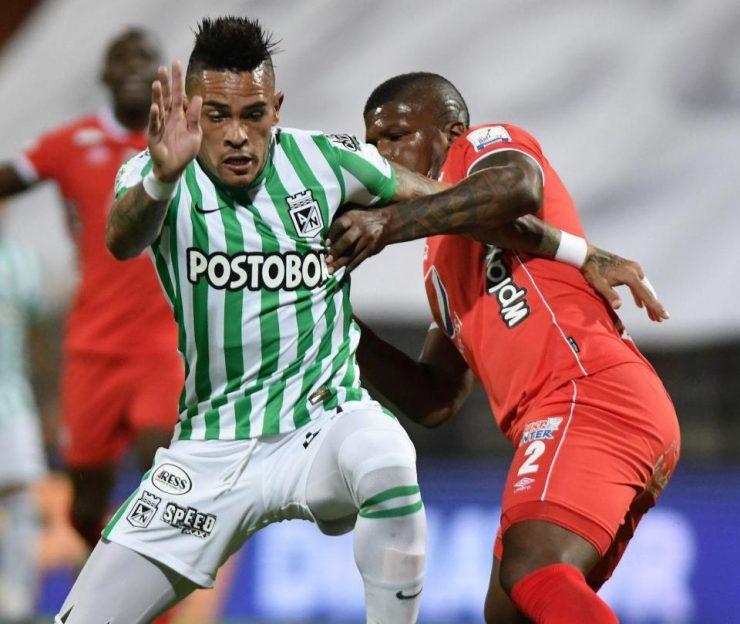 Atlético Nacional empata con el América 2-2 en la Liga Betplay - Fútbol Colombiano - Deportes