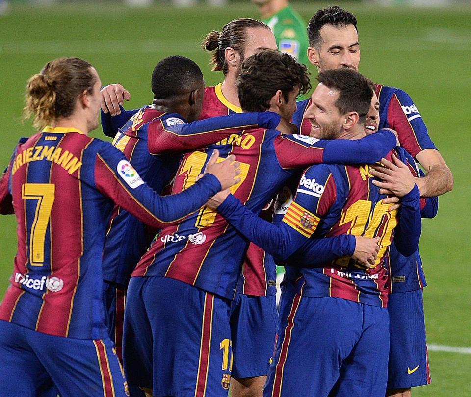 Barcelona ganó 2-3 al Betis y es segundo en la Liga de España - Fútbol Internacional - Deportes