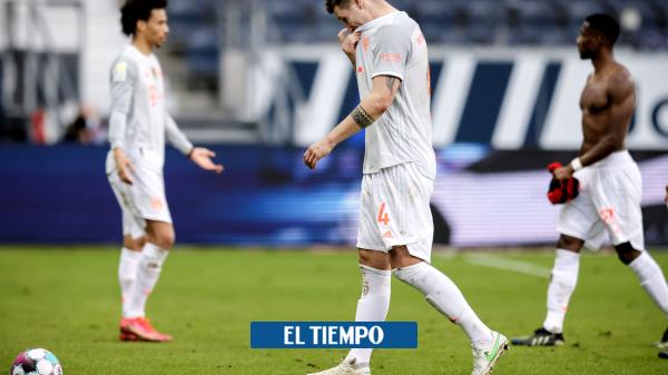 Bayern Múnich perdió con Euntracht Frankfurt en la Biundesliga - Fútbol Internacional - Deportes