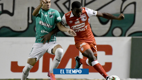 Cali 1-1 Santa Fe | crónica y estadísticas fecha 10 Liga BetPlay - Fútbol Colombiano - Deportes
