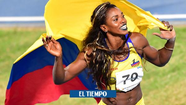 Caterine Ibargüen, la diosa de ébano, llega a los 37 - Otros Deportes - Deportes