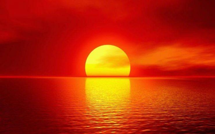Puesta de Sol Tierra