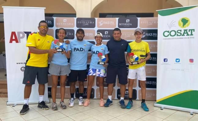Colombia demostró en Paraguay que tiene una de las generaciones de tenistas junior más prometedoras del continente