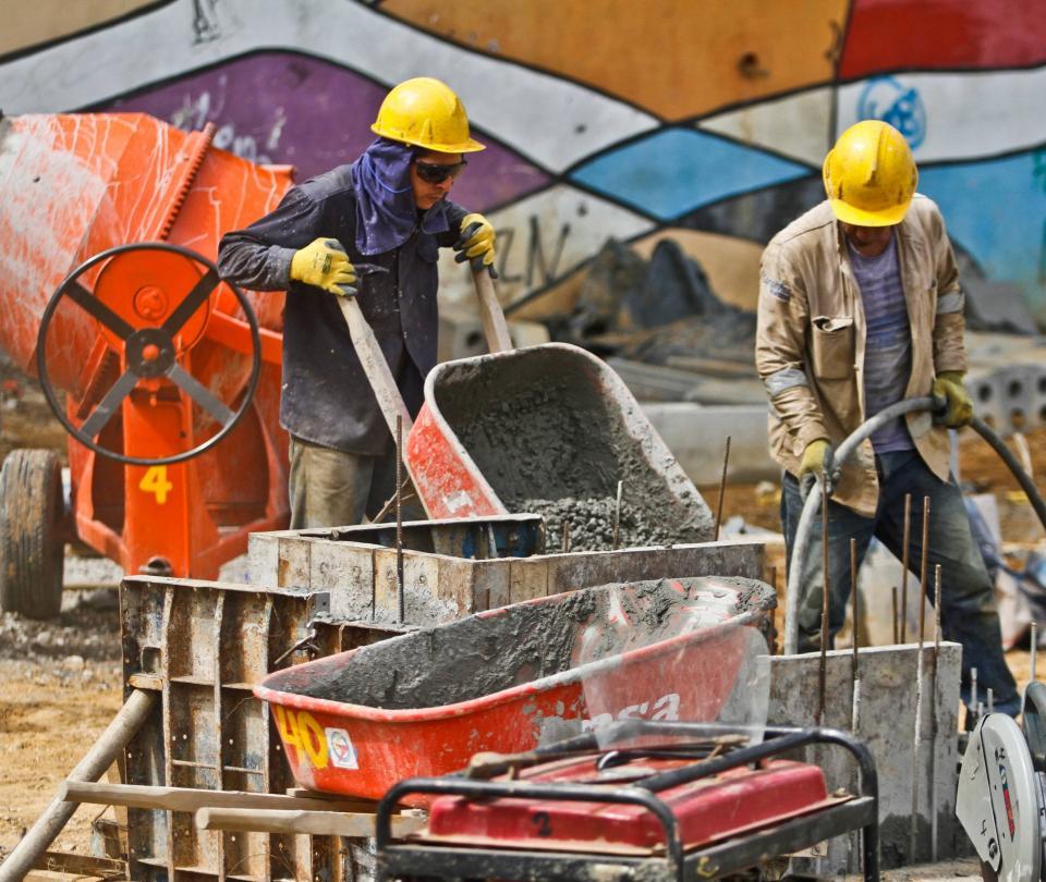 Construcción cerró el año pasado con sus cifras en rojo | Economía