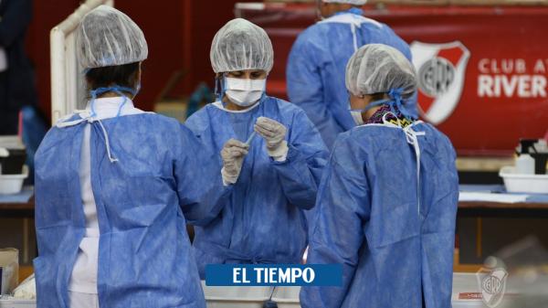 Coronavirus hoy: En sede de River Plate se vacuna contra la covid-19 - Fútbol Internacional - Deportes