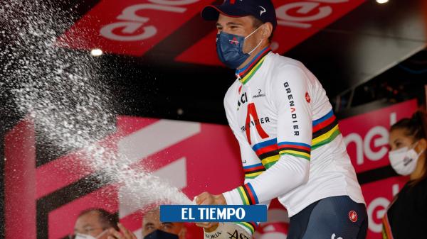 Daniel Martínez fue noveno en la contrarreloj del UAE Tour, Tadej Pogacar, es líder - Ciclismo - Deportes