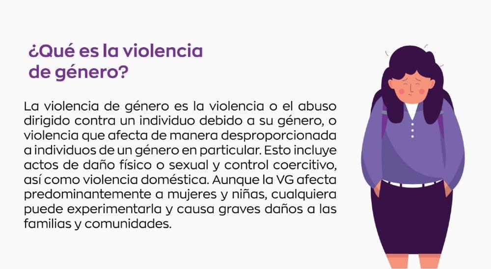 Estos proyectos buscan contribuir a la lucha contra la violencia de género