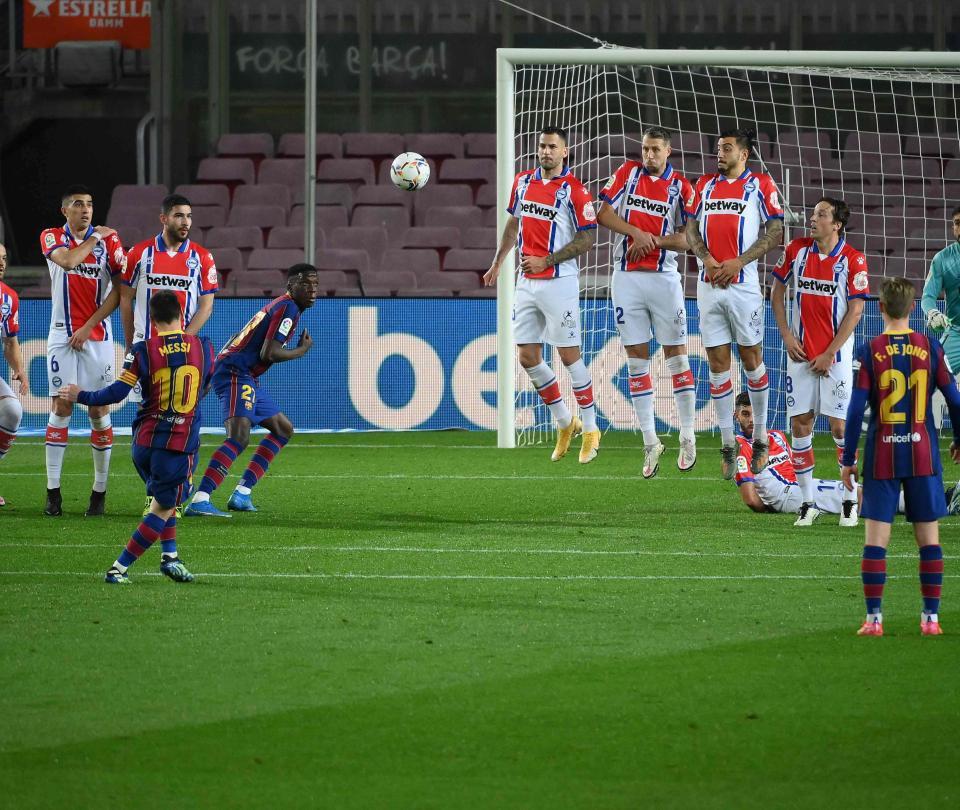 FC Barcelona 5-1 Alavés: doblete de Lionel Messi en la Liga de España - Fútbol Internacional - Deportes