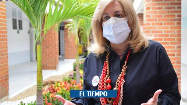 Gobernadora del Valle, Clara Luz Roldán, dio positivo para covid-19 - Cali - Colombia