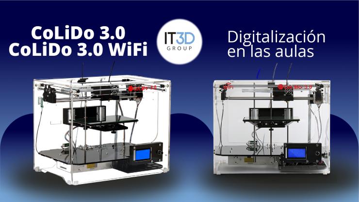 Impresoras 3D en las aulas. Tecnología en Educación