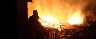 Incendio en el barrio Pampalinda, de Buenaventura - Otras Ciudades - Colombia