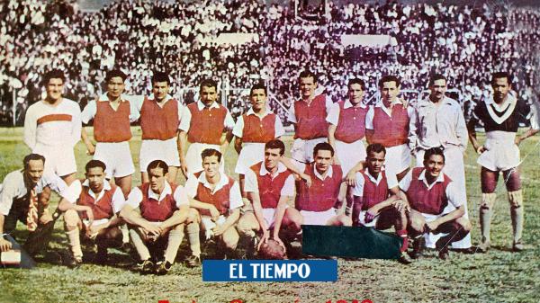 Independiente Santa Fe cumple 80 años: historia del equipo bogotano - Fútbol Colombiano - Deportes