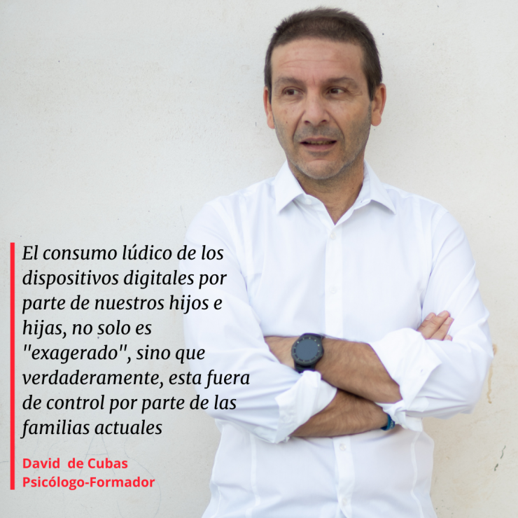 JUEGOS vs TECNOLOGIA - David de Cubas