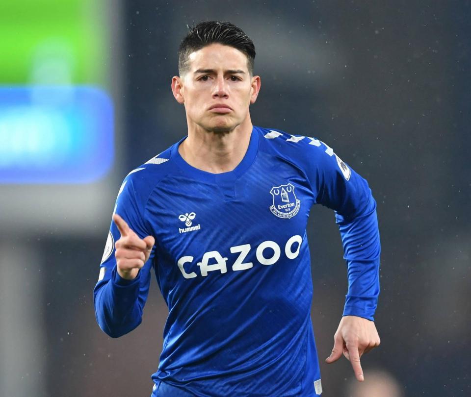 James Rodríguez hace su balance del paso por el Everton hasta ahora - Fútbol Internacional - Deportes