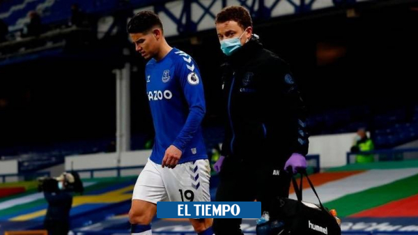 James Rodríguez podrá jugar el Everton vs Manchester City de la Premier League - Fútbol Internacional - Deportes