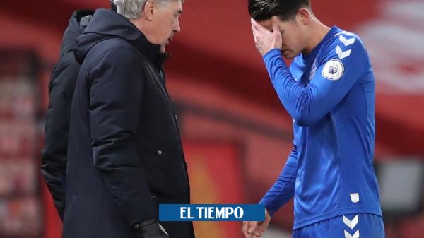 James Rodríguez tiene molestias en el gemelo, confirmó Carlo Ancelotti - Fútbol Internacional - Deportes