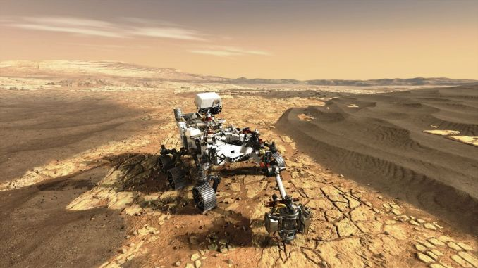 La tecnología espacial Airbus llega a Marte