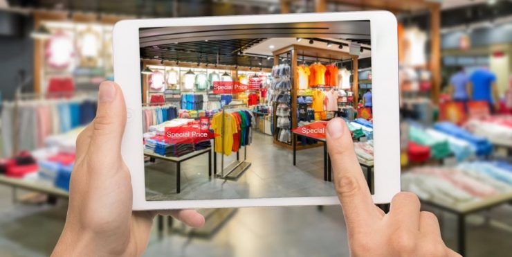 Las tiendas se abren de par en par a la tecnología