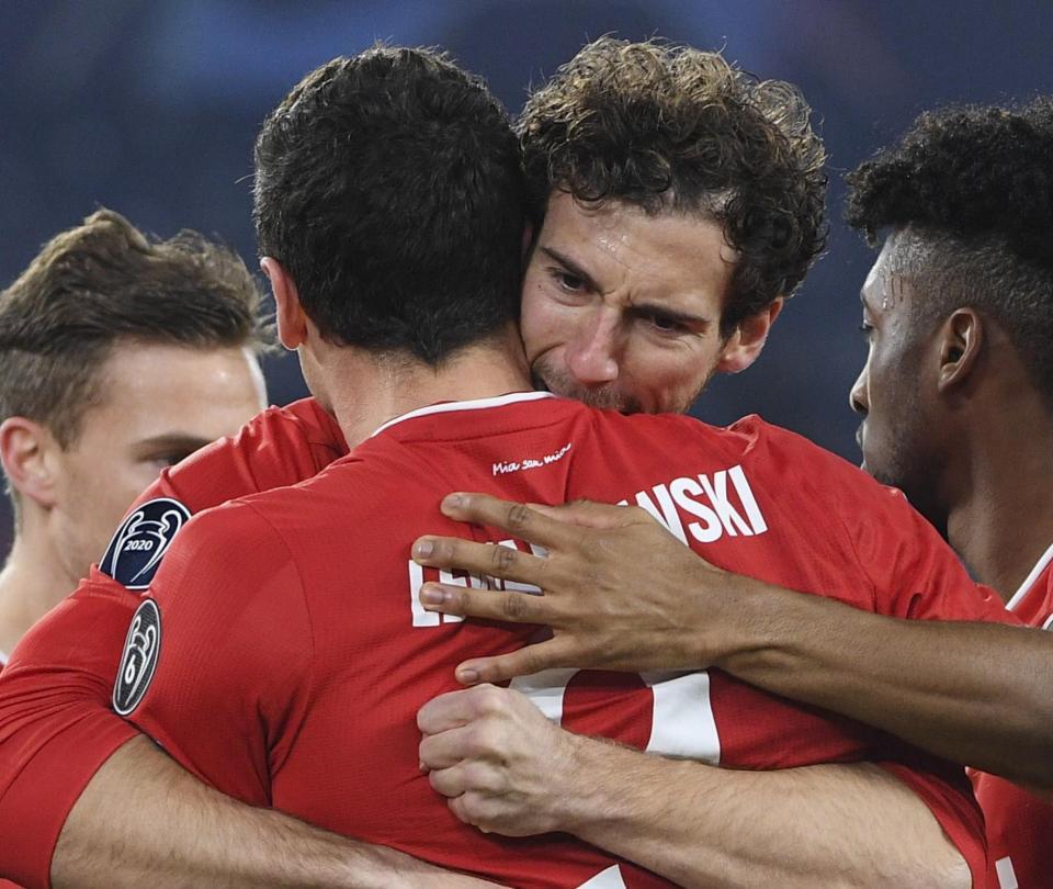 Lazio vs. Bayern Múnich: resultado y goles del partido Liga de Campeones - Fútbol Internacional - Deportes