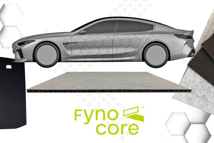 Fynocore es la marca de la tecnología de panel continuo Honeycomb de Fynotej, con licencia de EconCore.