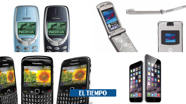 Los celulares más populares de cada año desde el 2000 - Novedades Tecnología - Tecnología