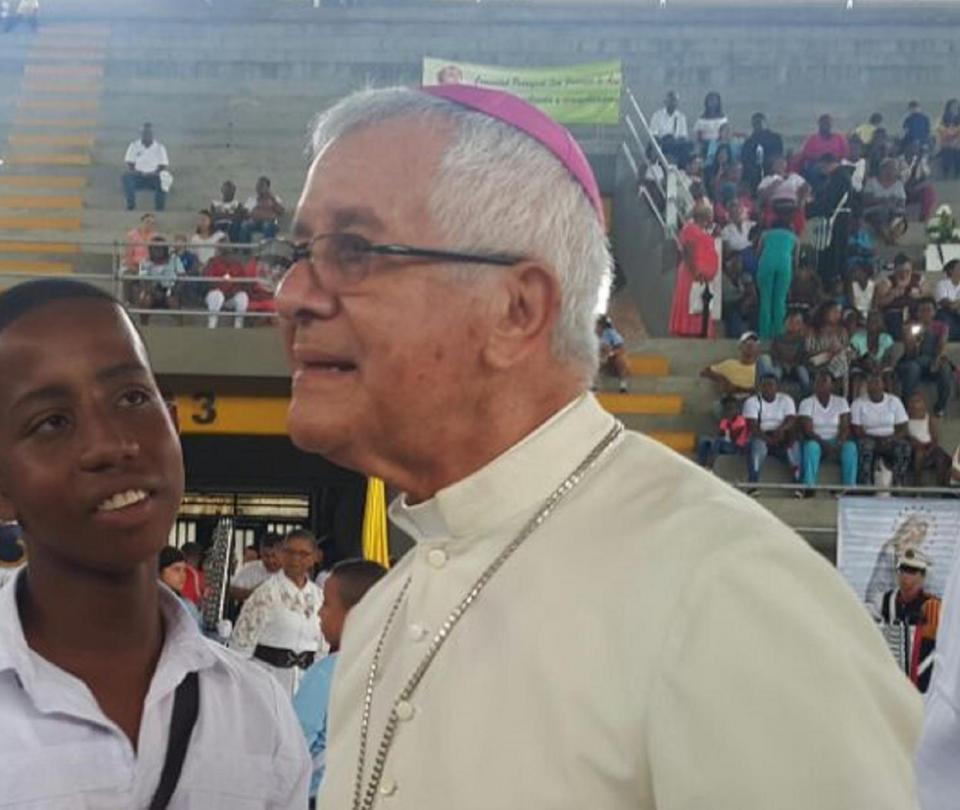 Luto por la muerte del 'Obispo del Pueblo' en el Pacífico de Colombia - Cali - Colombia