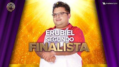 Erubiel fue acusado de acosar a una fanática del programa (Foto: Twitter @MasterChefMx)