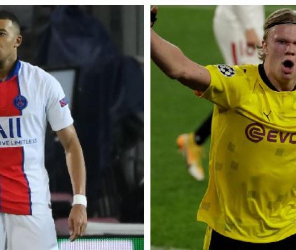 Mbappé y Haaland los herederos de Cristiano Ronaldo y Lionel Messi - Fútbol Internacional - Deportes