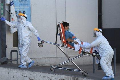 Este 28 de febrero se cumplió un año de que se reportó el primer caso de coronavirus en México (Foto: EFE / Luis Torres/Archivo)