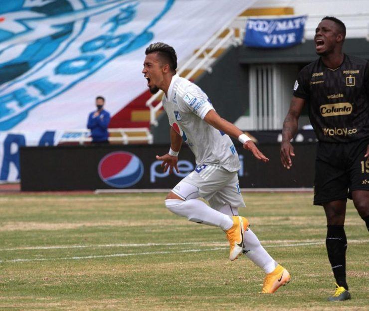 Millonarios 4-3 Once Caldas: crónica y estadísticas fecha 3 Liga BetPlay - Fútbol Colombiano - Deportes