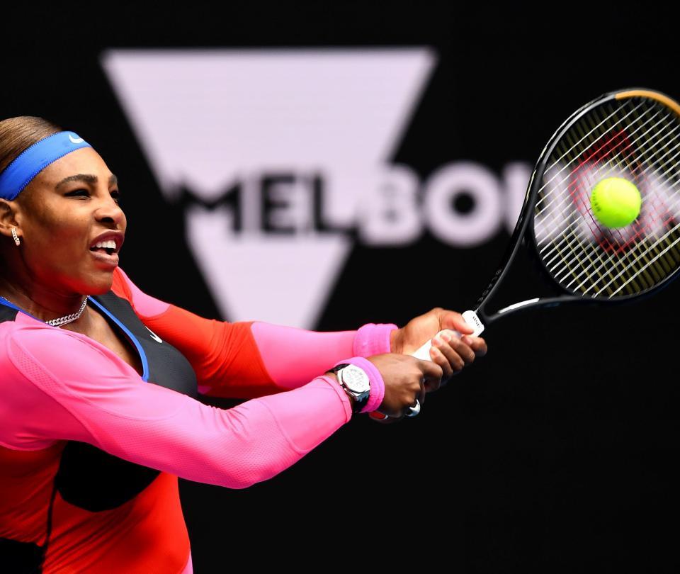 Novak Djokovic y Serena Williams avanzaron en Abierto de Australia - Tenis - Deportes