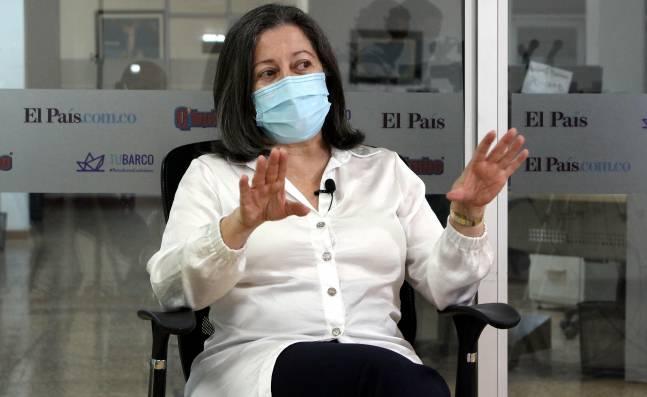 """""""Primera vacuna anticovid-19 se aplicará el 20 de febrero en el Valle"""": María Cristina Lesmes"""