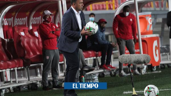 Santa Fe: Habla Hárold Rivera del empate contra el Cali en la Liga BetPlay - Fútbol Colombiano - Deportes