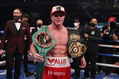 """Saúl """"Canelo"""" Álvarez busca conservar sus títulos mundiales de la división del peso supermediano (Foto: Ed Mulholland/Reuters)"""