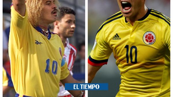 Selección Colombia: la historia de la polémica de James con Rincón, el Pibe y el Tino - Fútbol Internacional - Deportes